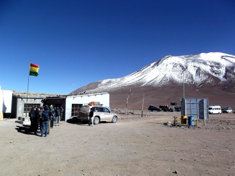 Grenzübergang von Bolivien nach Chile in der Nähe von San Pedro de Atacama