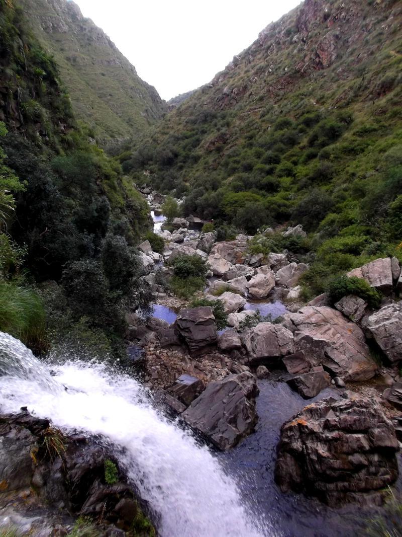 Der Coimata Wasserfall bei Tarija - ein echter Geheimtipp im Süden von Bolivien