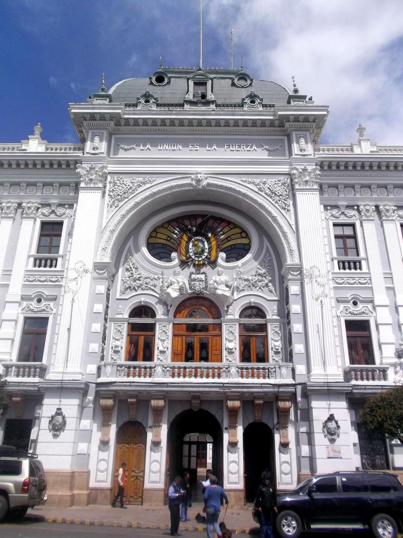 Sucre, die offizielle Hauptstadt von Bolivien