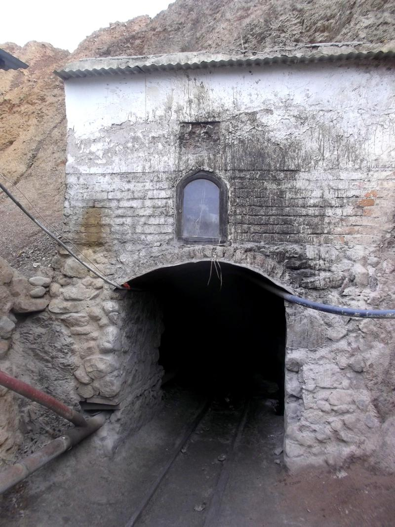Minentour in Potosi