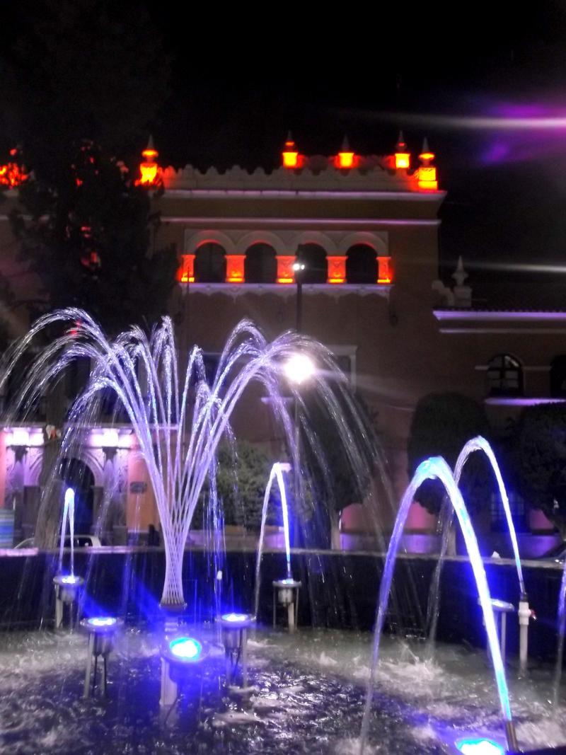 Ziemlich überraschend hat Potosi auch eine sehr hübsche Altstadt - selbst bei Nacht