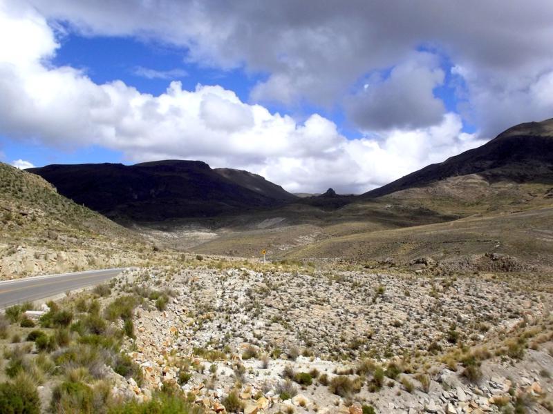 Atemberaubende Busfahrt von Potosi nach Uyuni