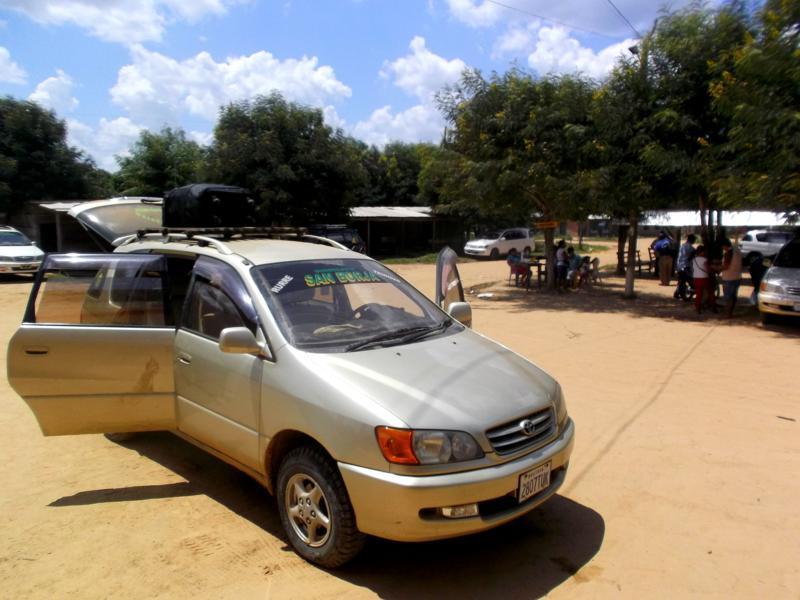 Fahrt mit San Borja Syndicato in Bolivien von Rurrenabaque nach San Ignacio de Moxos