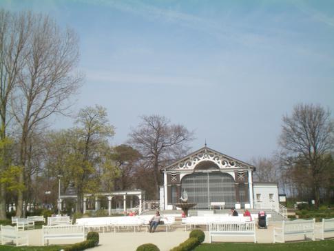 Der Kurpark von Boltenhagen