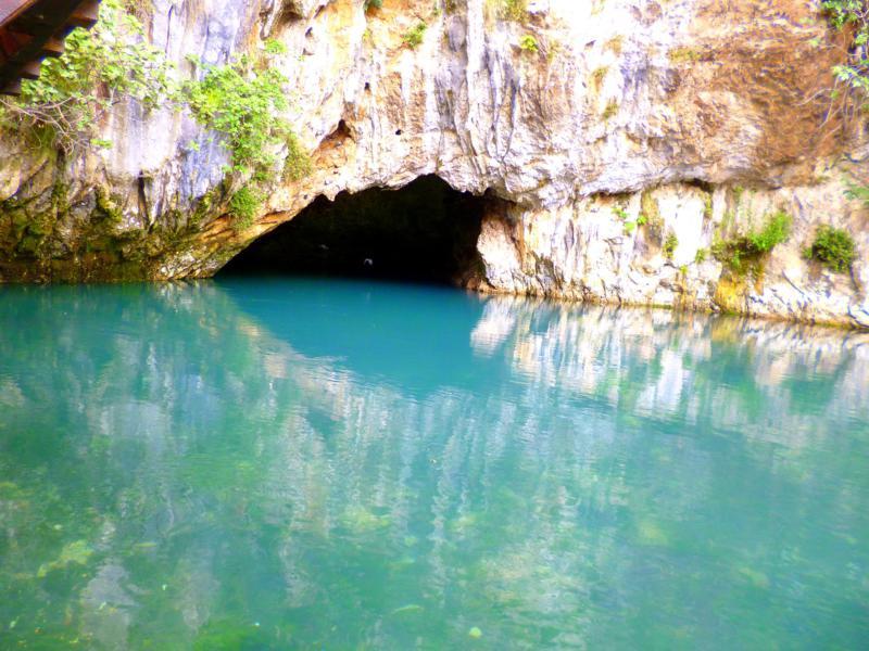 Die Quelle von Blagaj nahe Mostar