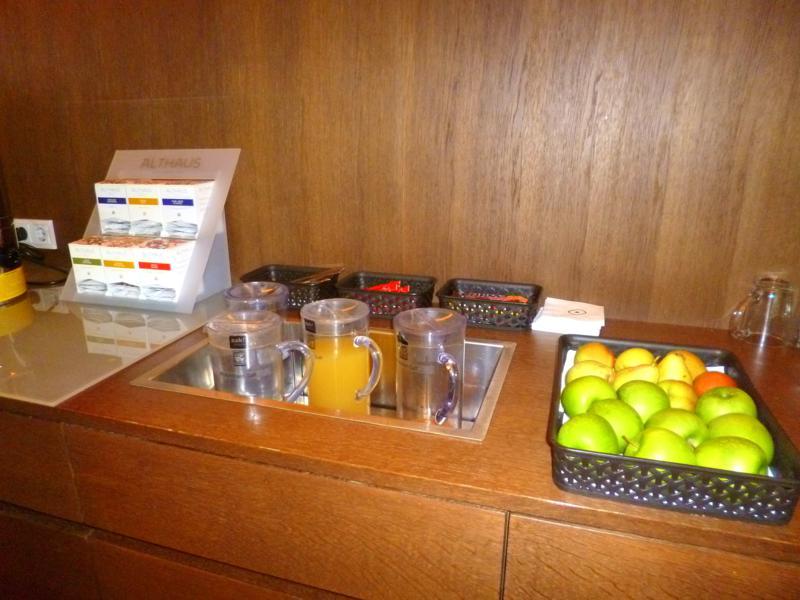 Wellness-Bereich mit Tea- and Juice-Corner im Sonne Lifestyle Resort