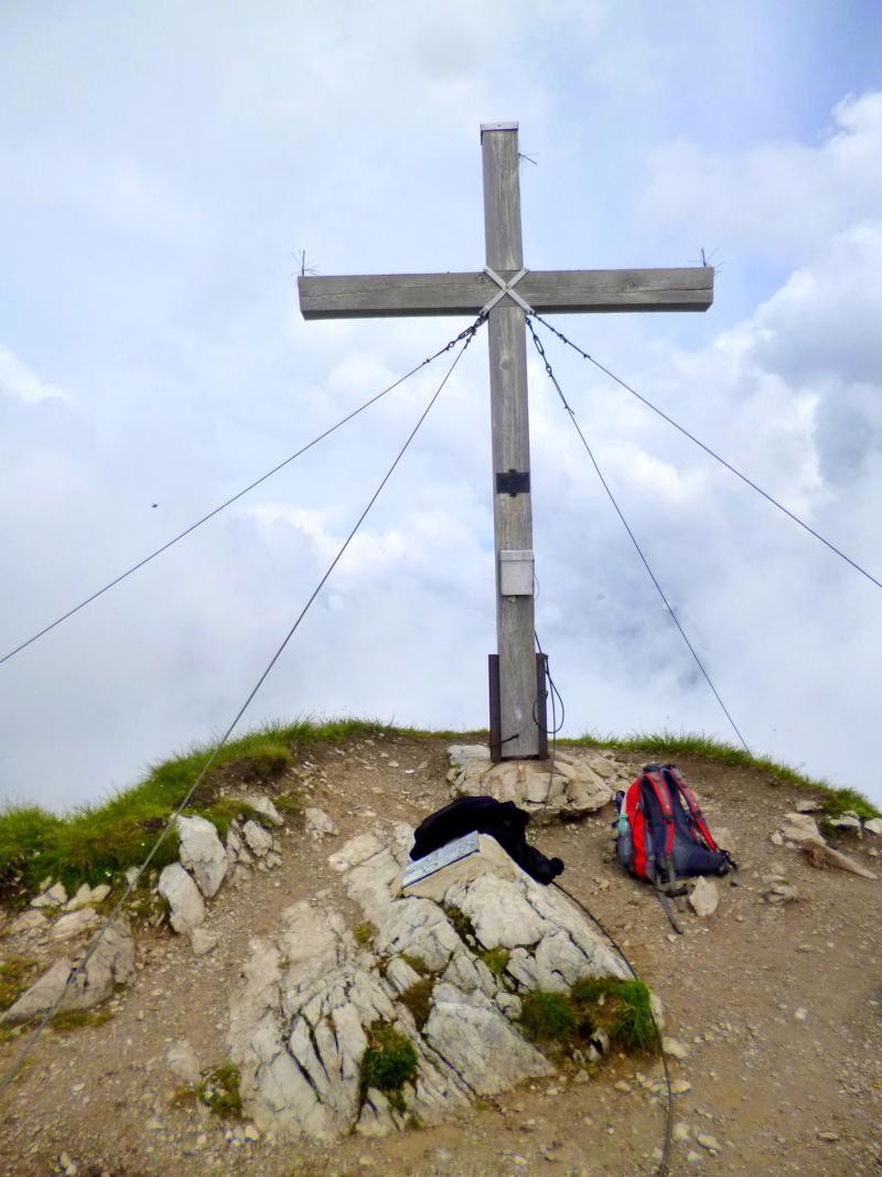 Das Gipfelkreuz am Geißhorn