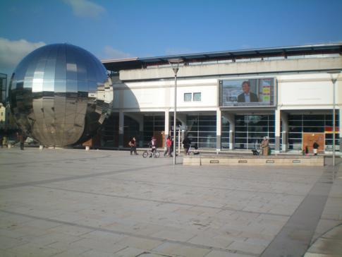Der Millenium Square in Bristol