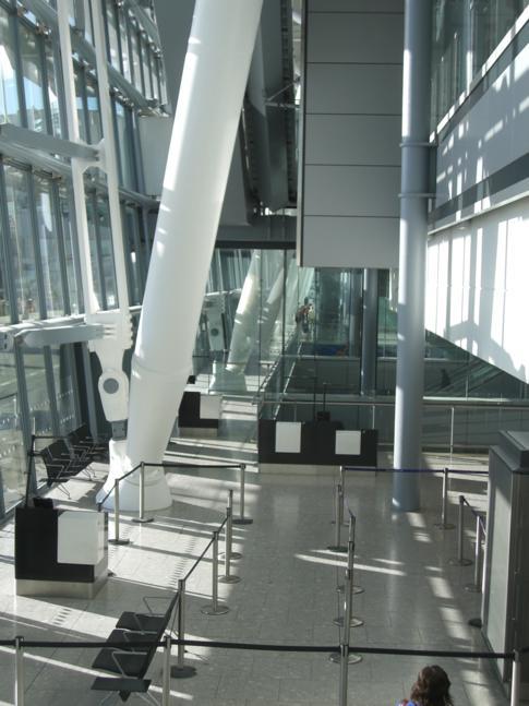 Das Terminal 5 in London-Heathrow