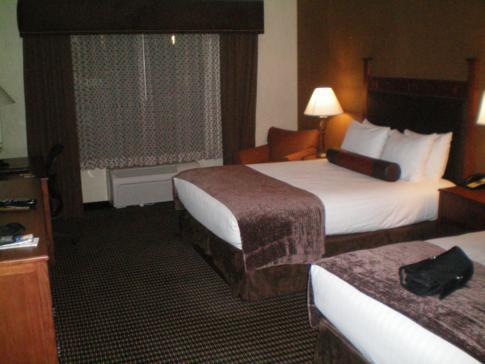 Unser Doppelzimmer im Best Western Bryce Canyon Grand Hotel