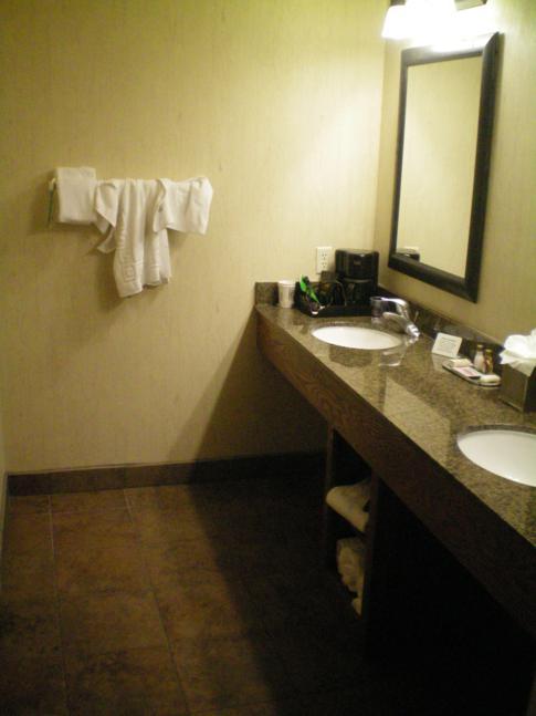 Modernes Badezimmer im Best Western Bryce Canyon Grand Hotel