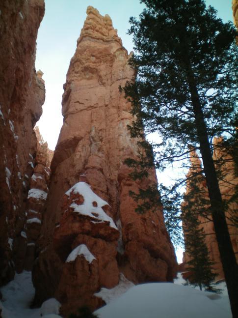 Wanderung hinein in den Bryce Canyon