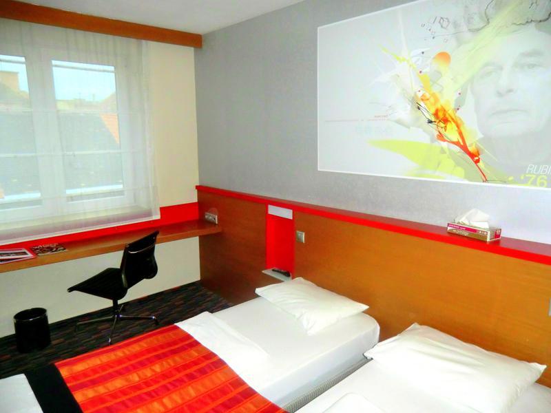 Unser modernes Doppelzimmer im Royal Park Boutique Hotel