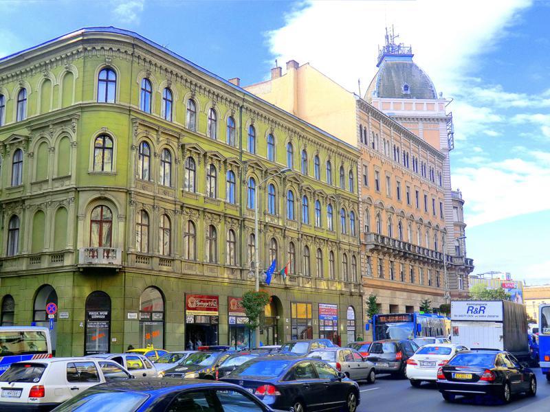 Historische Gebäudekultur in Budapest