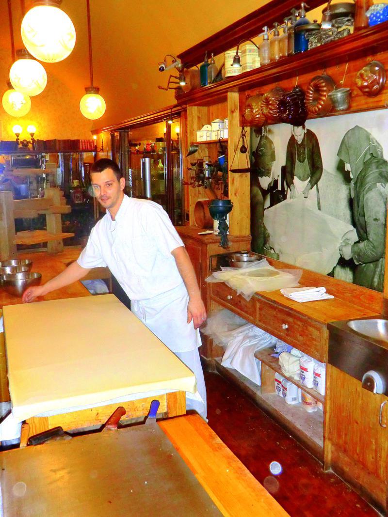 Kleiner kulinarischer Abstecher ins Strudelhaus von Budapest
