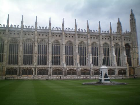 Die große Kapelle des Kings College