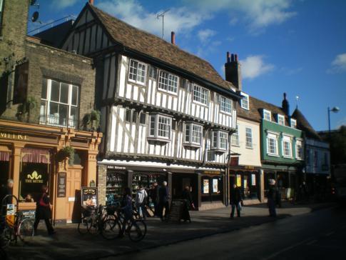 Die Bridge Street in Cambridge