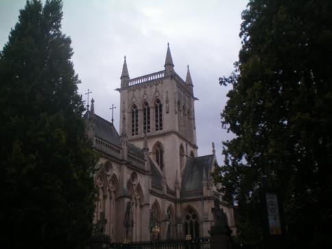 Das St. Johns College in Cambridge