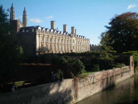 Das Claire College in Cambridge