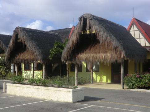 Der neu erbaute Canouan Jet Airport im Süden der Insel