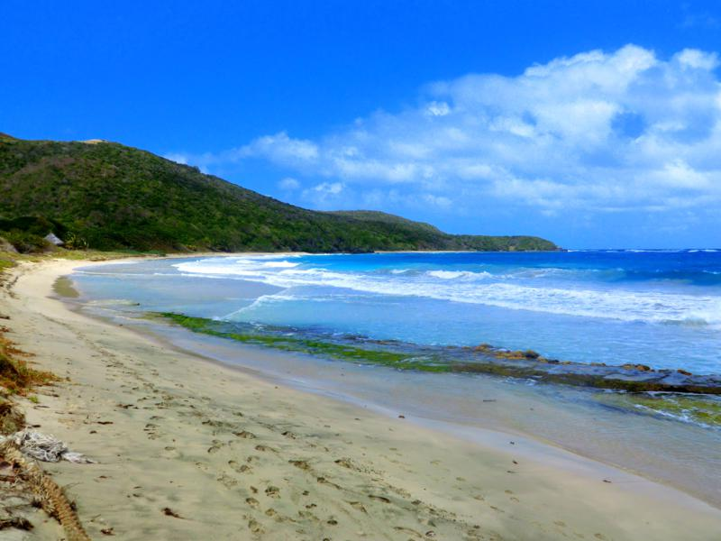 Der Mahault Beach in Canouan