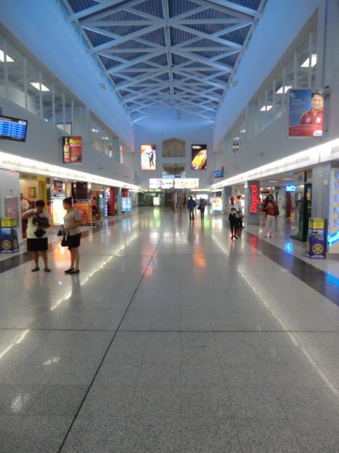Der Piarco International Airport, Hauptflughafen von Trinidad