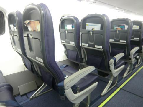 Das neue Interior der ATR72-600 von Caribbean Airlines