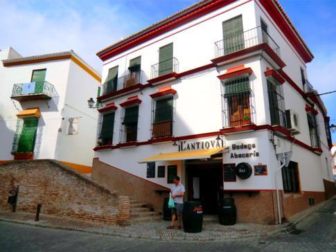 Eine Bodega im andalusischen Carmona nahe Sevilla