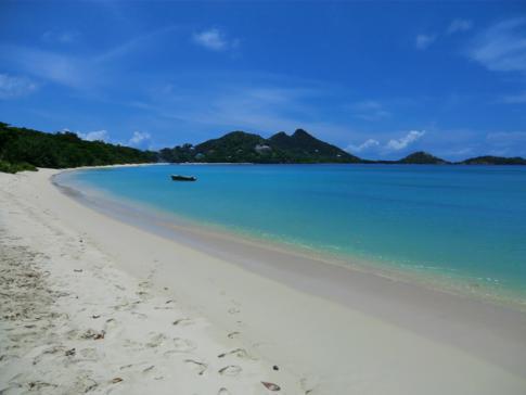 Paradise Beach, der vielleicht schönste Strand von Carriacou