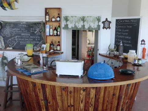 Kontinentales Frühstück im Green Roof Inn auf Carriacou