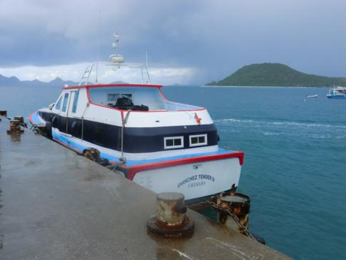 Die Osprey Ferry von Carriacou nach Petit Martinique