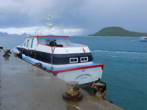 Die Osprey Ferry von Carriacou nach Petit Martinique