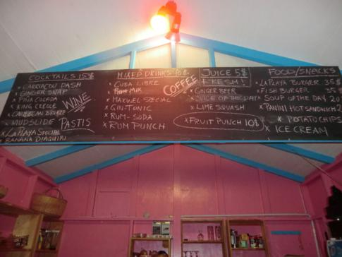 Die La Playa Bar auf Carriacou in der Hillsborough Bay