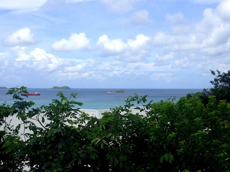 Ausblick von der Villa Pelican auf Grenada