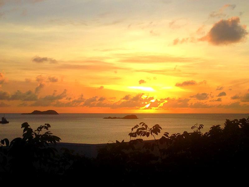 Sonnenuntergang auf Carriacou