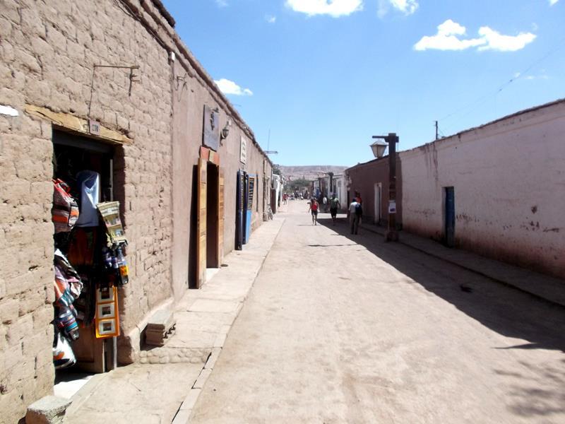 Das kleine Örtchen San Pedro de Atacama in Chile