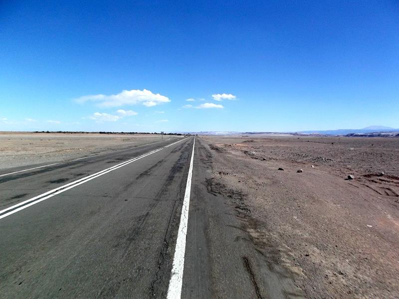 Das ganze Ausmaß der Atacamawüste in Chile - einfach riesig