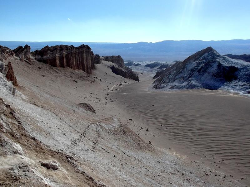 Das Valle de la Luna in San Pedro de Atacama