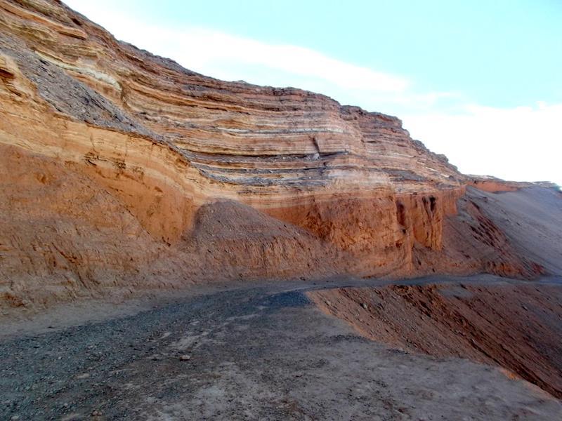 Das Valle de la Muerte in San Pedro de Atacama