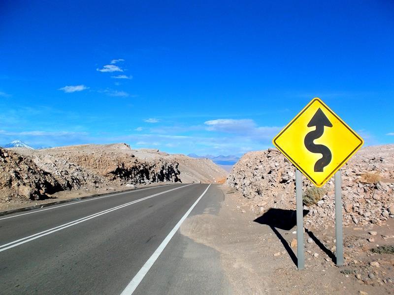 Spannende Landschaften in Chile um San Pedro de Atacama