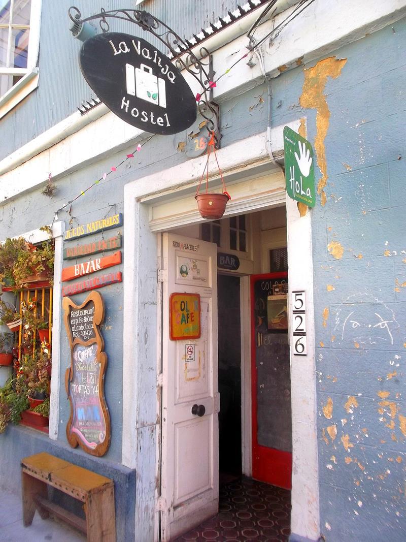 Das La Valija Hostel in Valparaiso in Chile