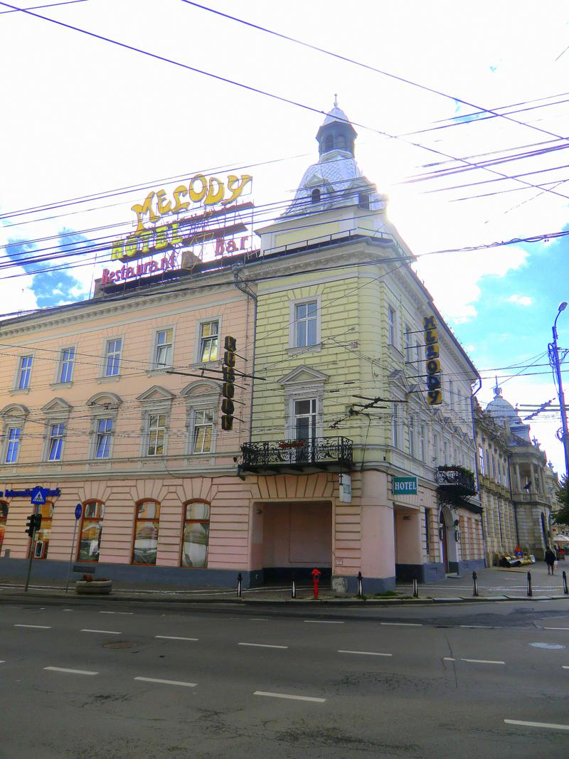 Hotel Melody Central – mitten in Cluj
