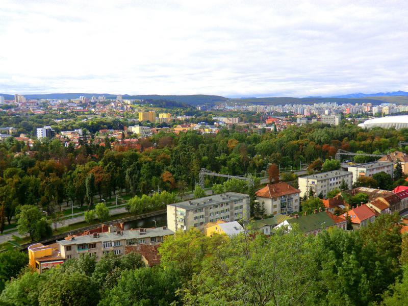 Der Cetatuia Park in Cluj