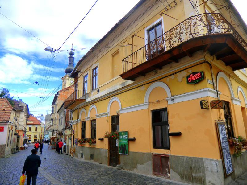Die sehenswerte Altstadt von Cluj-Napoca