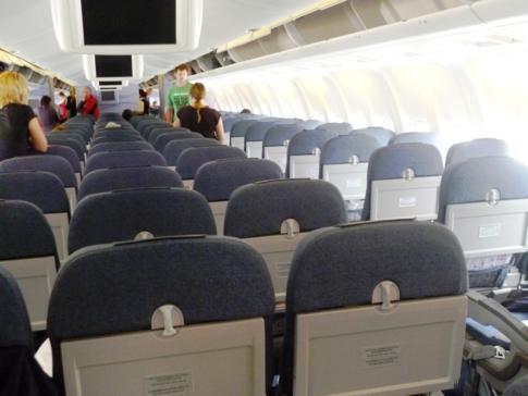 Typische Condor-Maschine der Boeing 767-300