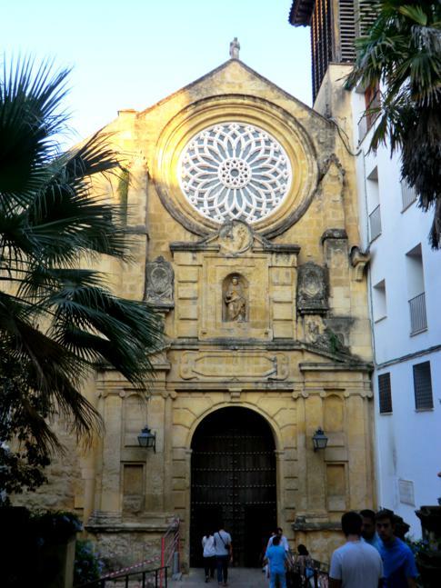 Eine der vielen Kirchen in Cordoba: die Real Iglesia de San Pablo