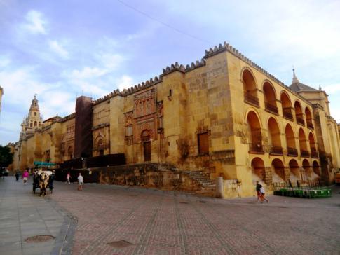 Die berühmte Mezquita-Kathedrale in Cordoba