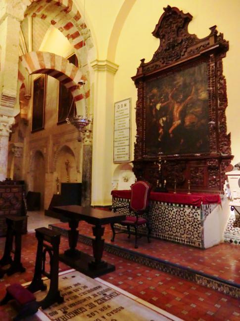 Innenansicht der Mezquita-Kathedrale in Cordoba