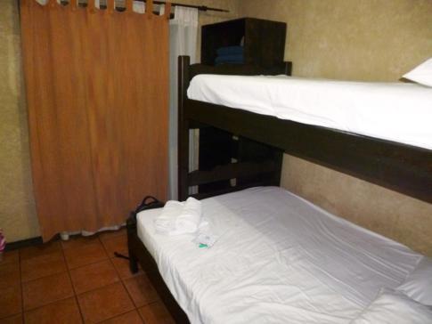 Mein Zimmer im Maleku Hostel in Alajuela, Costa Rica