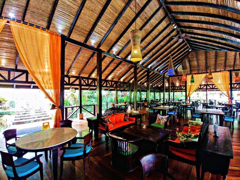 Das Restaurant im Rio Celeste Hideaway Hotel
